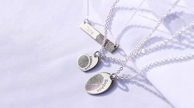 An image showing the Fingerprint Jewellery