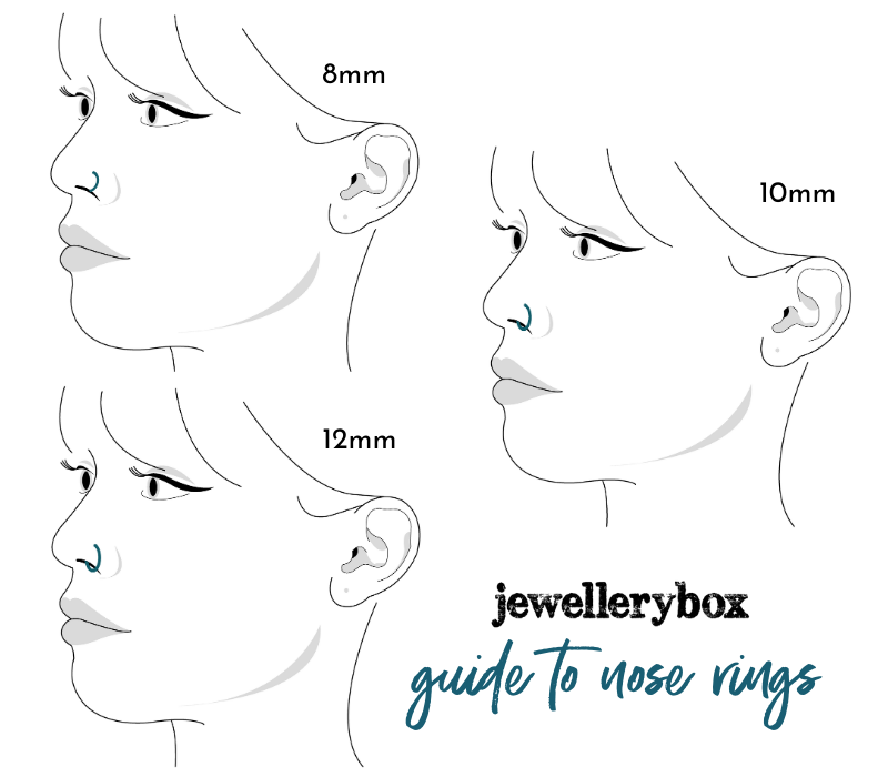 nose ring size guide