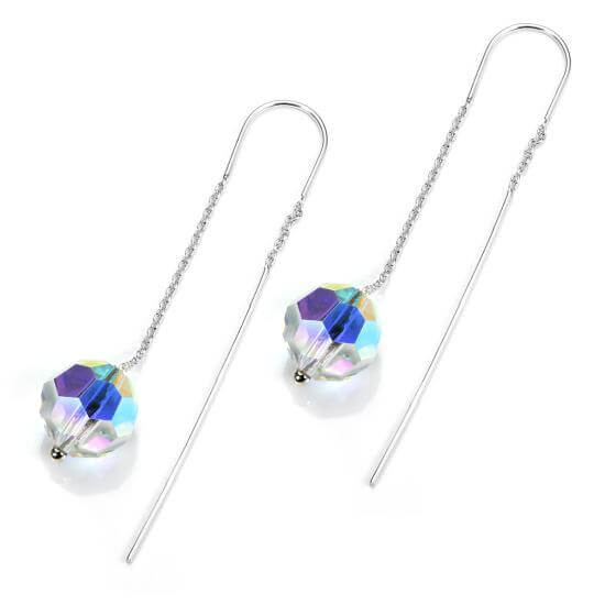 Aurora Borealis Earrings & Nose Studs