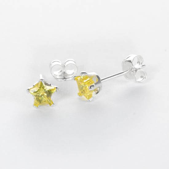 Citrine Yellow Earring Studs & Pendants