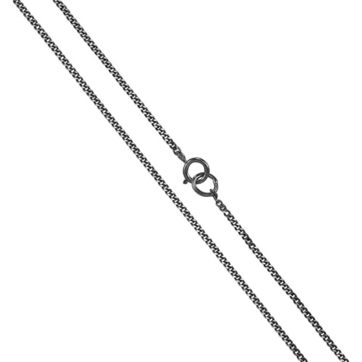 Alterative image for 9ct White Gold Diamond Cut Curb Chain 16 - 20 Inches