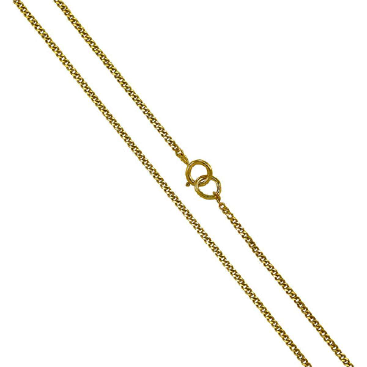 Alterative image for 9ct Yellow Gold Diamond Cut Curb Chain 16 - 20 Inches