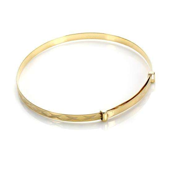 9ct Yellow Gold Baby Bangle