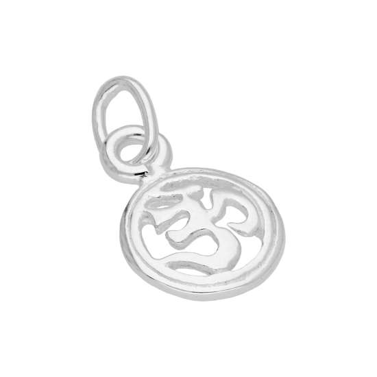 Sterling Silver Ohm Charm