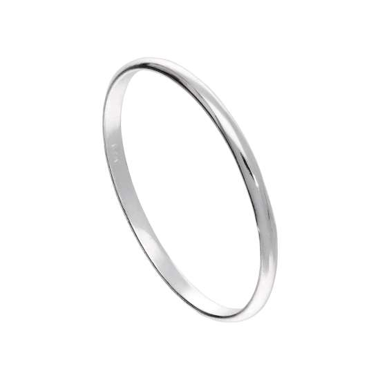 Small Sterling Silver 1mm Plain Stacking Ring