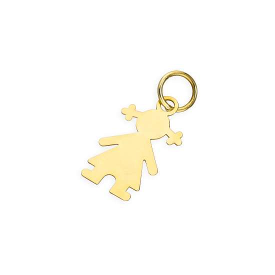 9ct Gold Ragdoll Charm