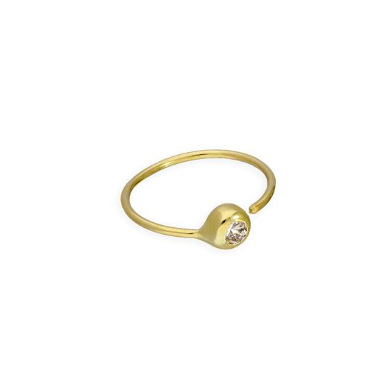 9ct Gold 24Ga Nose Ring