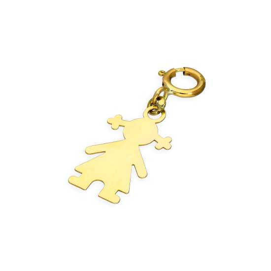 9ct Gold Ragdoll Clip on Charm
