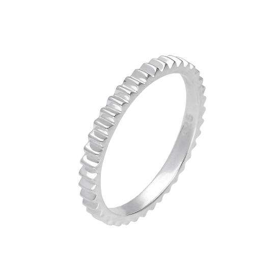 Sterling Silver Gear Cog Ring