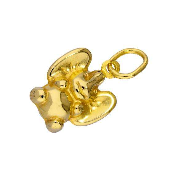 9ct Gold Flying Elephant Charm