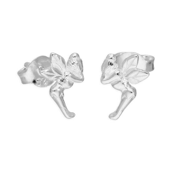 Sterling Silver Little Fairy Stud Earrings