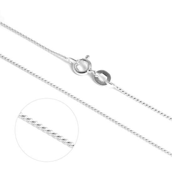 Fine Sterling Silver Foxtail Chain Necklace 14 - 28 Inches