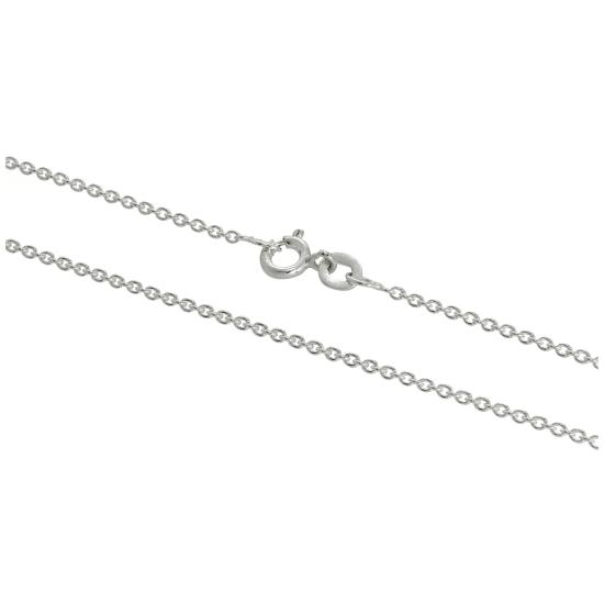 Sterling Silver 1mm Belcher Chain 16 - 24 Inches