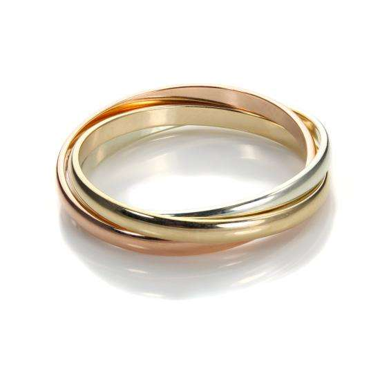 9ct mixed gold 2mm russian wedding ring jewellerybox co uk