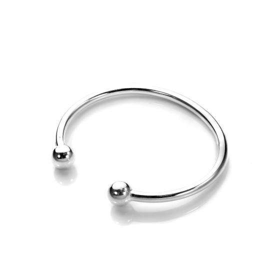 Sterling Silver Baby Torque Bangle