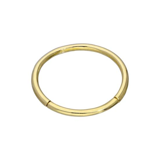 9ct Gold 16Ga Segment Ring Body Jewellery