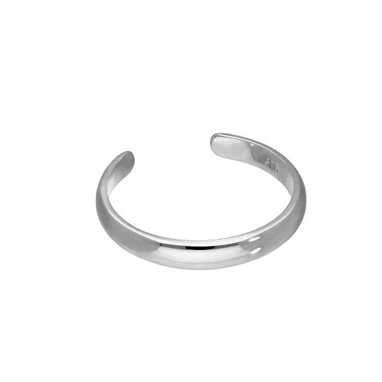 9ct White Gold Adjustable Toe Ring