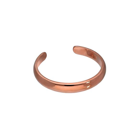 9ct Rose Gold Adjustable Toe Ring