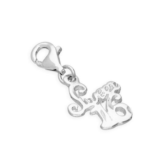 Sterling Silver 'Sweet 16' Clip on Charm