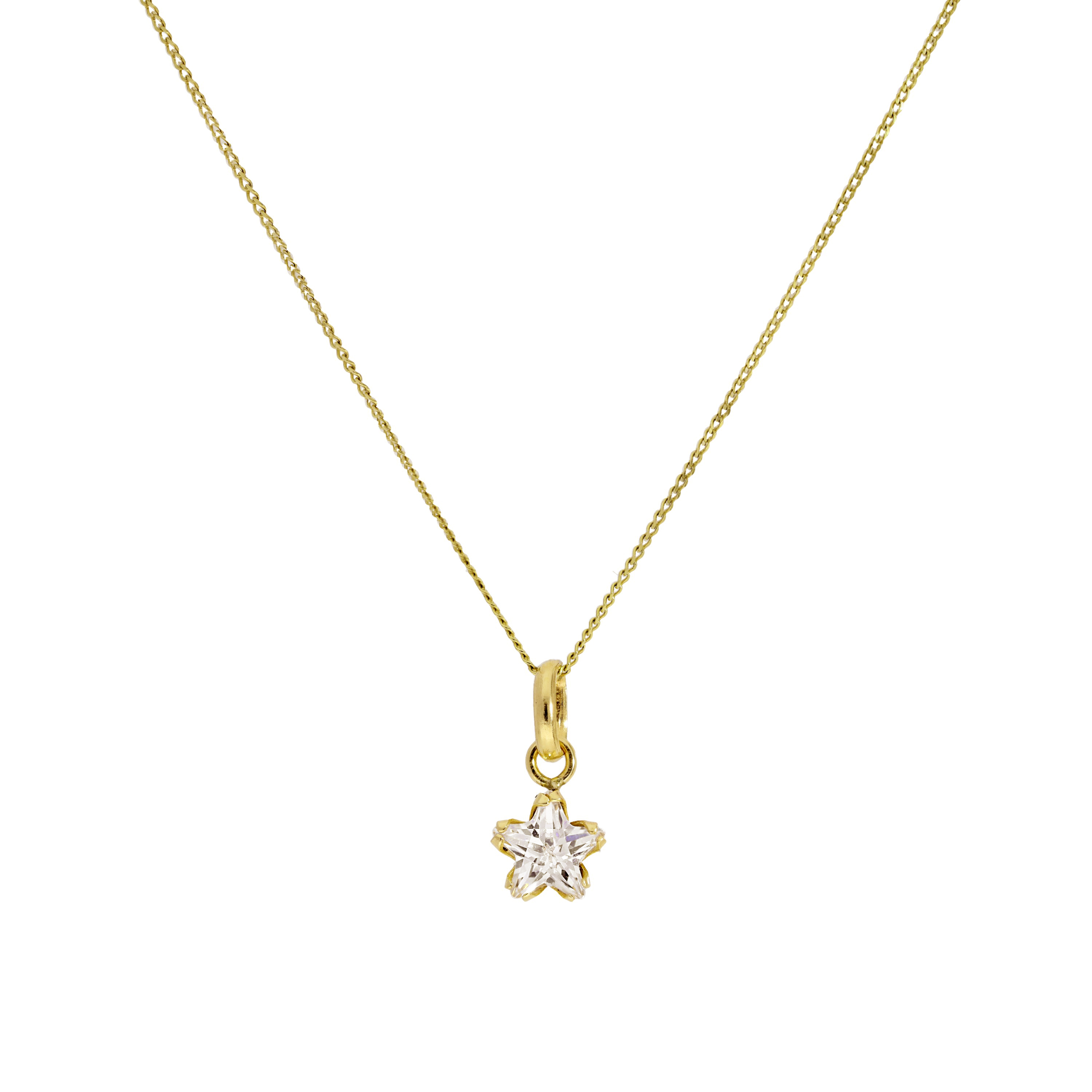 Real 375 9ct Gold /& Black CZ Crystal Owl Pendant on Chain 16-20 Inches Birds