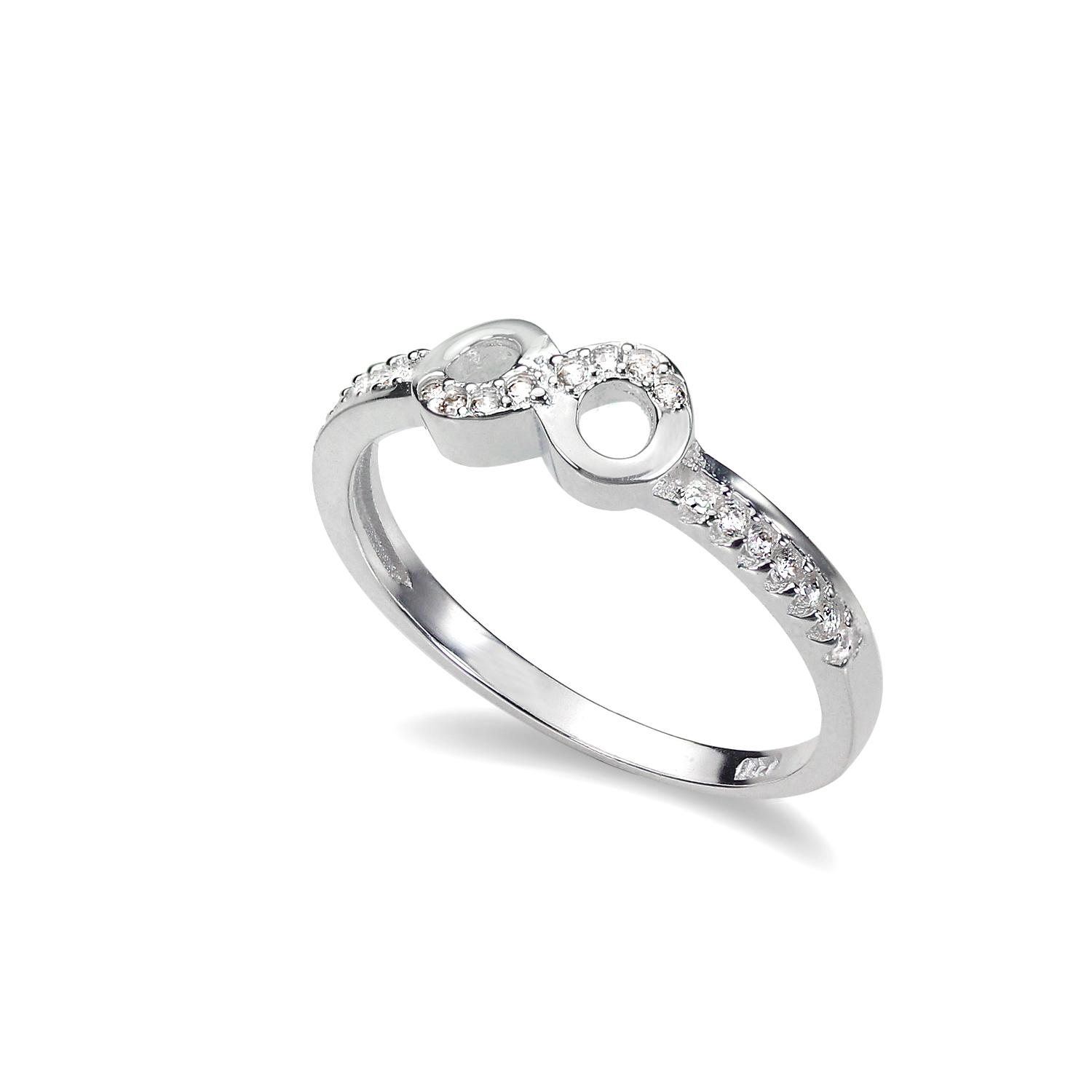 promise silver sterling ring rings knot product friendship love original infinity