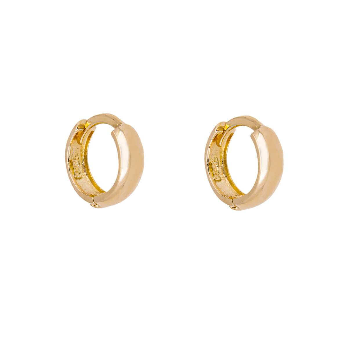 9ct Gold Huggie Hoop Earrings