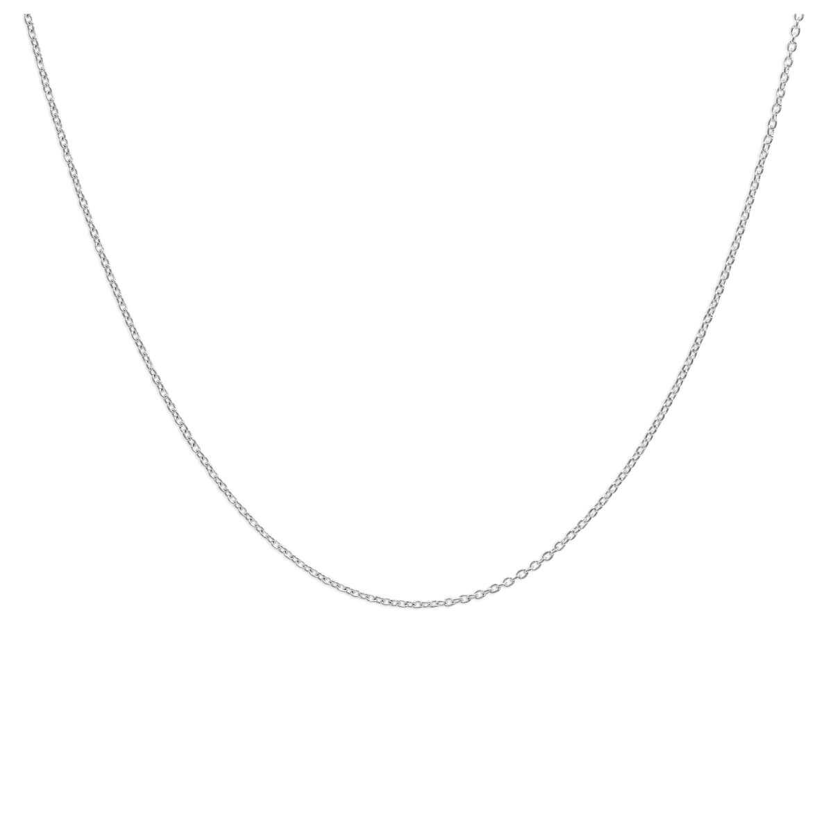 Sterling Silver Adjustable Slider Pendant Chain up to 24 Inches