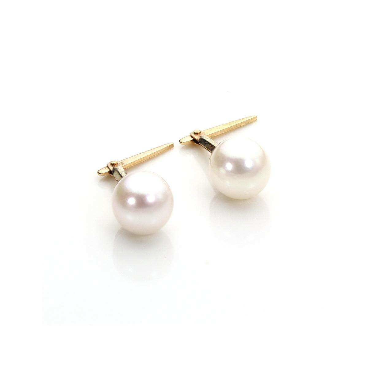 Andralok 9ct Yellow Gold Cultured Pearl 5mm Stud Earrings