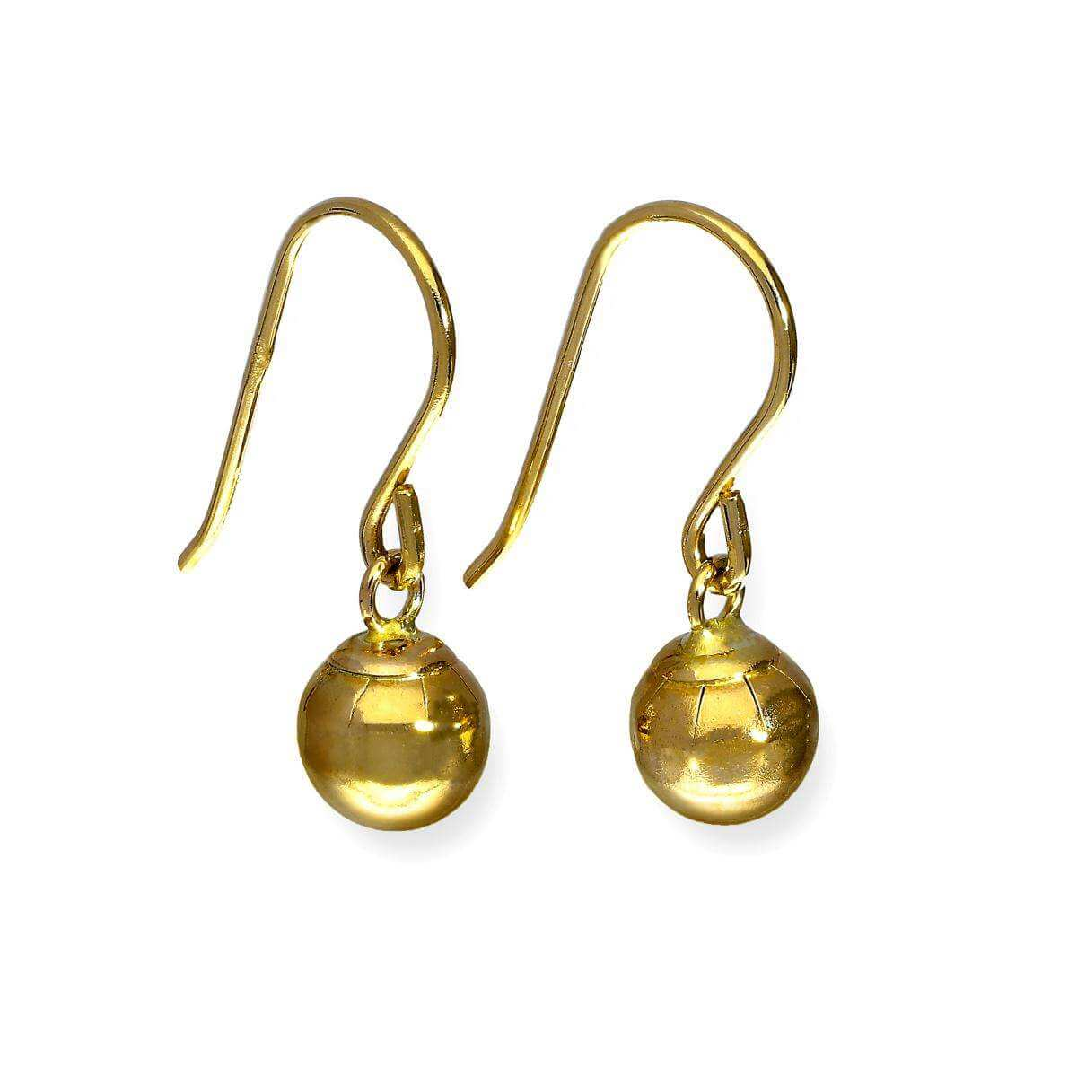 9ct Gold Dangle Earrings
