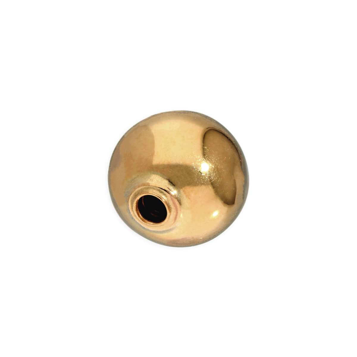 9ct Gold 5mm Replacement Belly Bar Ball Fastening