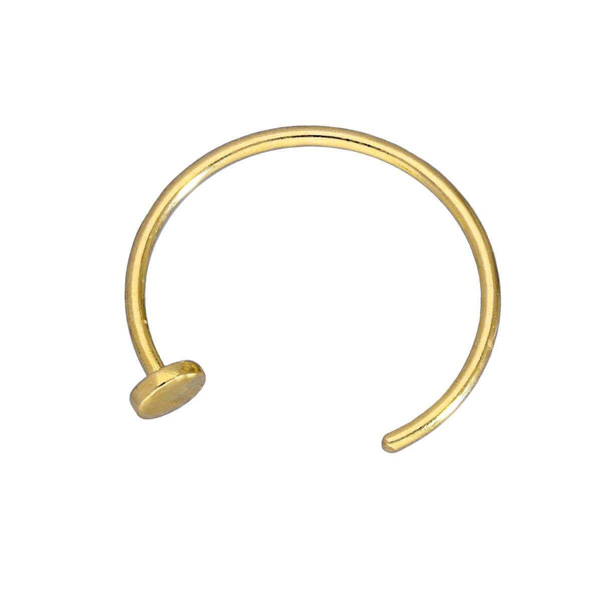 9ct Yellow Gold Nose Ring