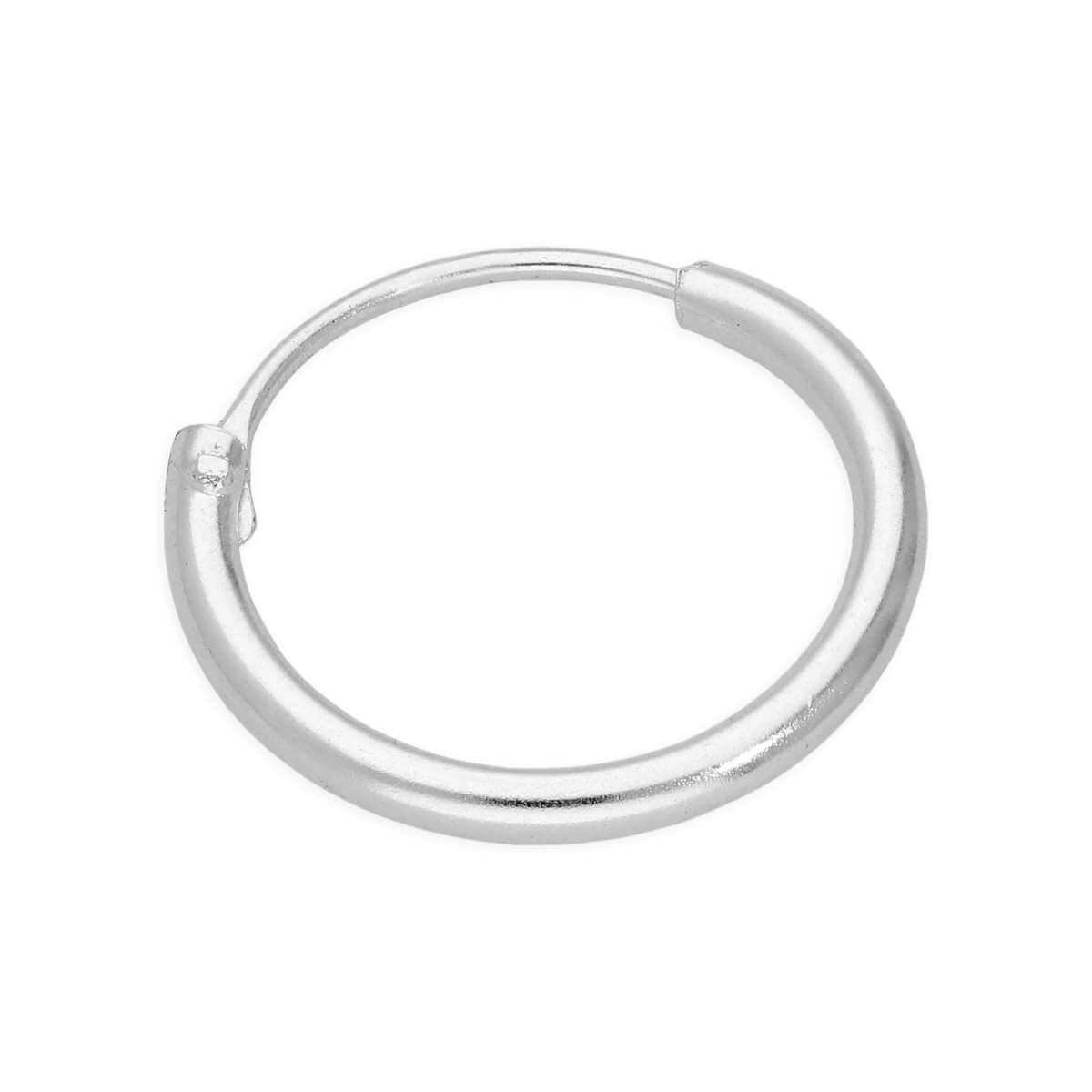 Sterling Silver 24Ga Segment Hoop Nose Ring 12mm