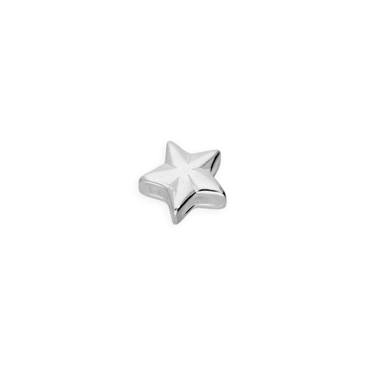 Sterling Silver Floating Star Charm