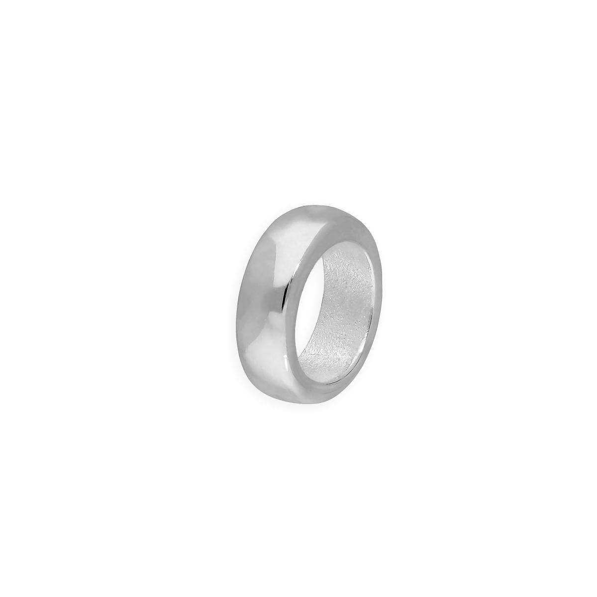 Sterling Silver 2mm Plain Polished Round Ring Bead