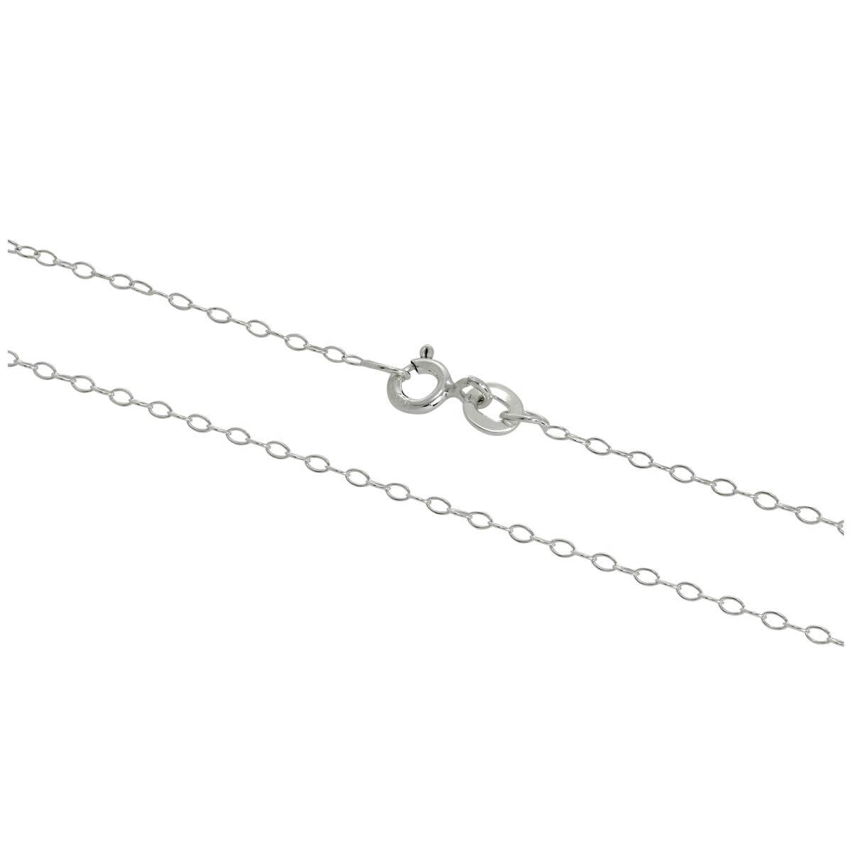 Sterling Silver Trace Chain 14 - 28 Inches