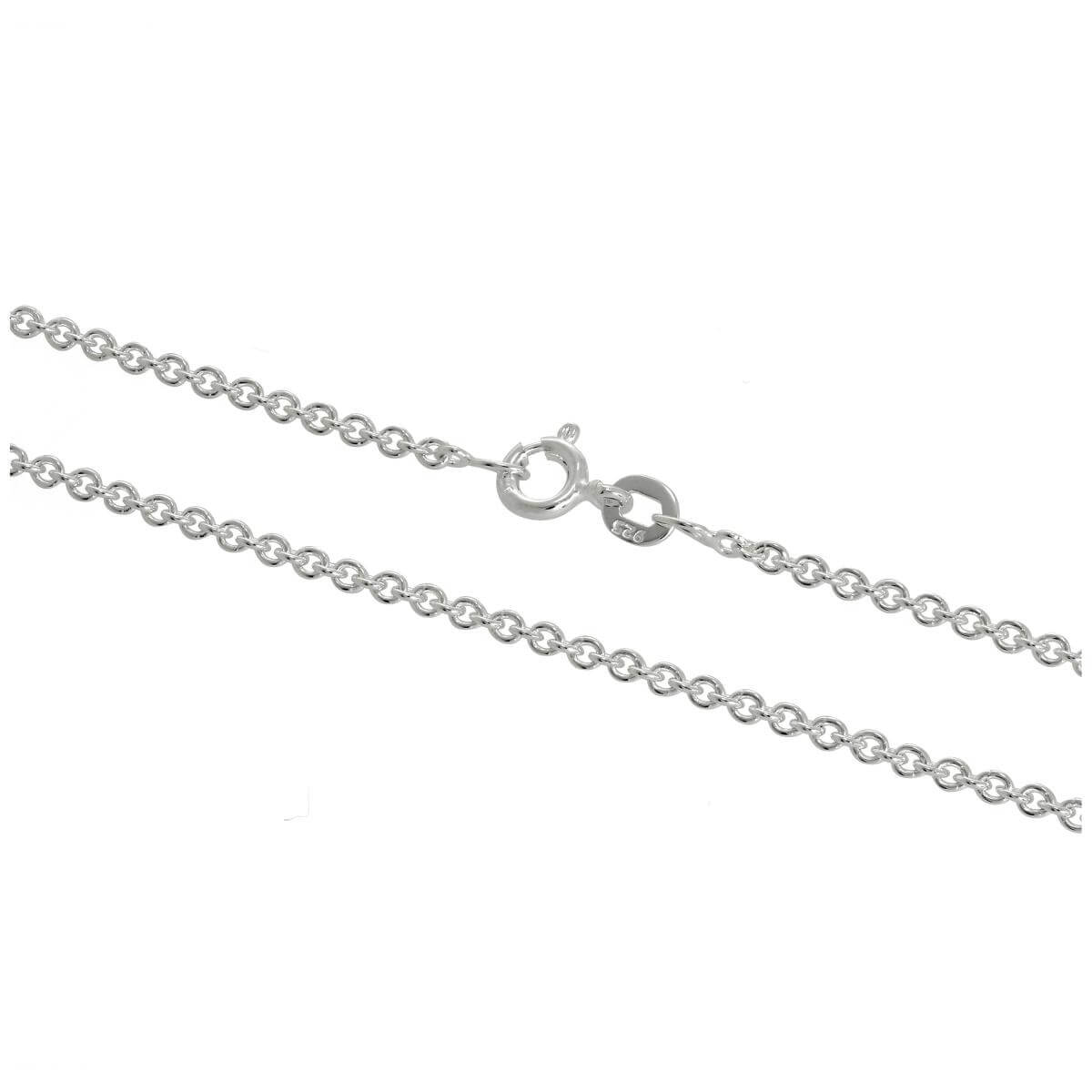 Sterling Silver 2mm Cable Chain 16 - 24 Inches