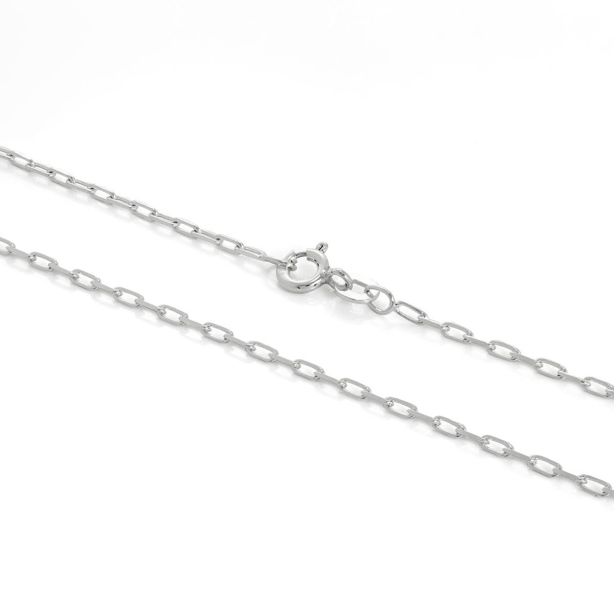 Sterling Silver 2mm Long Link Cable Chain 16 - 24 Inches