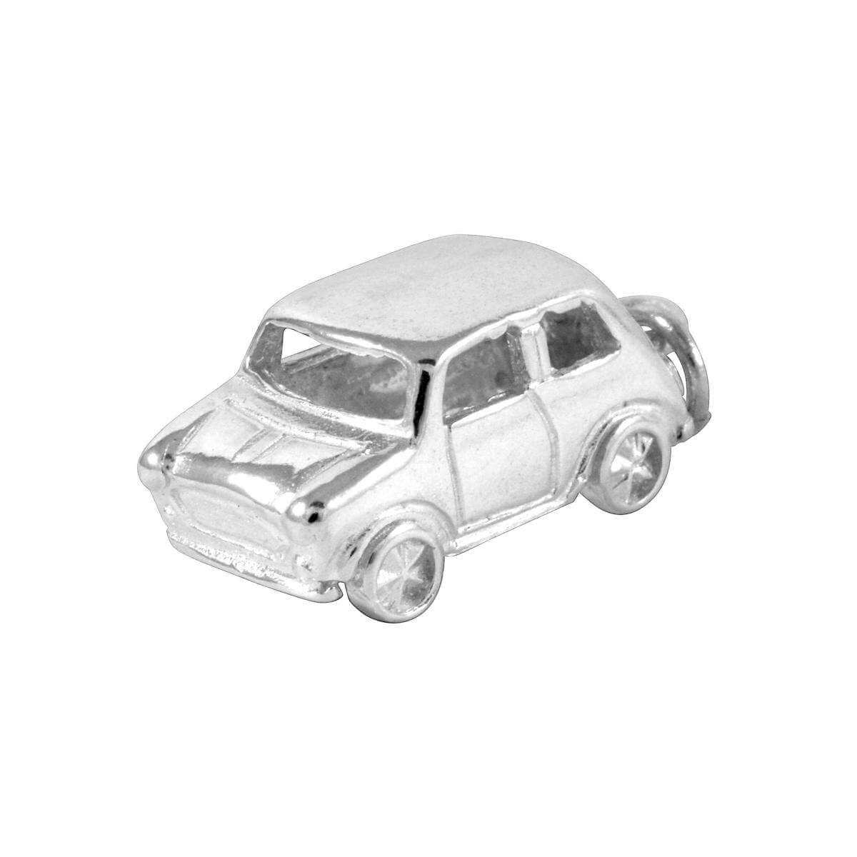 Sterling Silver Large Mini Car Charm