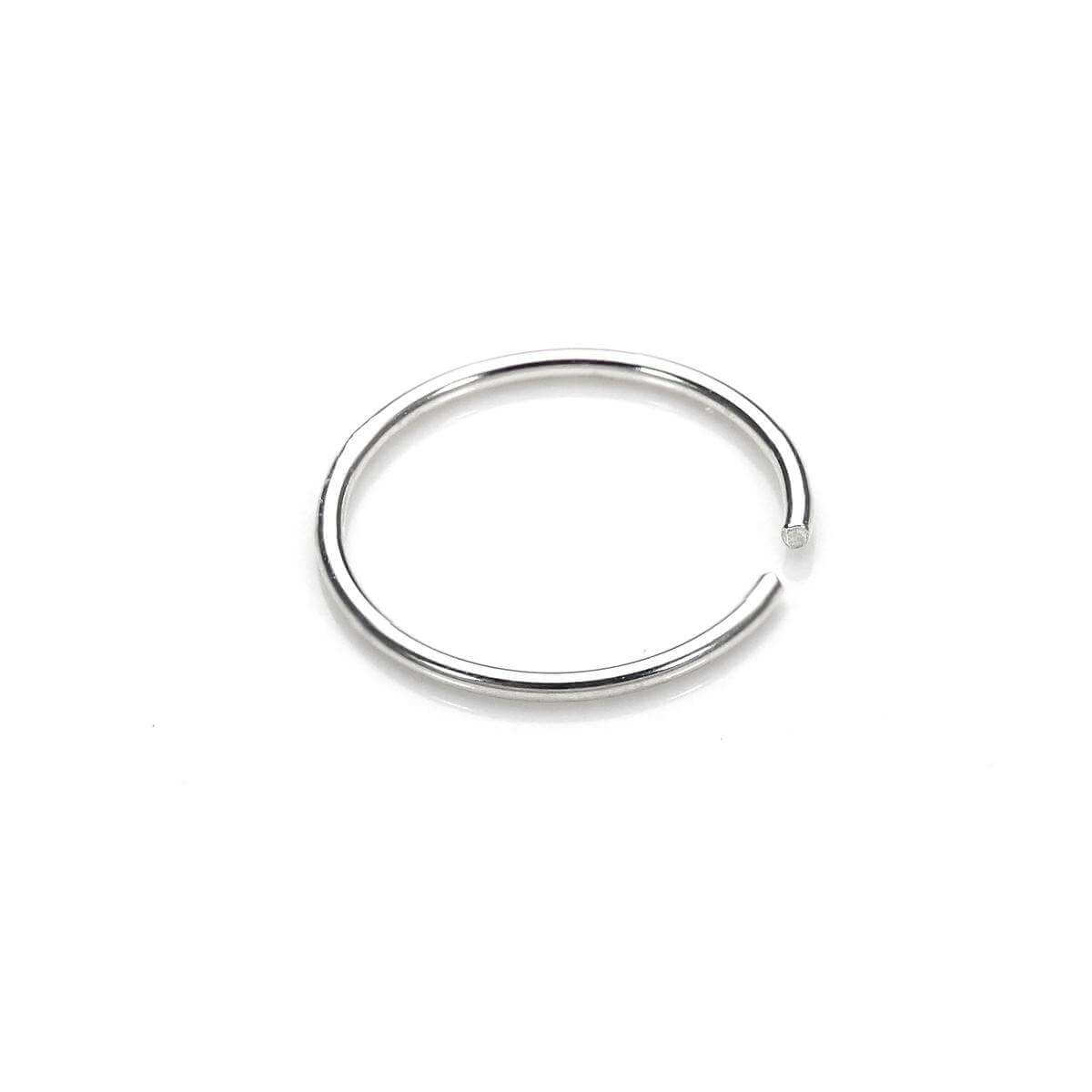 Sterling Silver 8mm Nose Ring Jewellerybox Co Uk